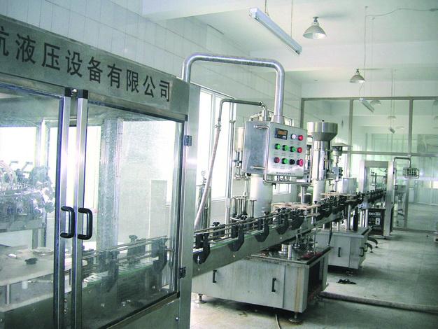 河南新航牌葡萄酒专用低真空负压灌装机生产线设备GZX-12