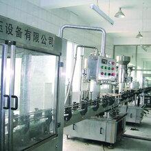 河南新航牌葡萄酒专用低真空负压灌装机生产线设备GZX-12图片
