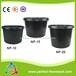 青岛博菲特1-30号加仑盆,注塑育苗花盆,黑色塑料花盆