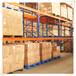 塑胶厂横梁式仓储货架生产厂家,牧隆现场测量