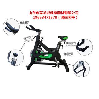 新款磁控动感单车山东健身器材厂家直销高端产品健身房加盟