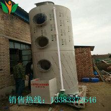 PP噴淋塔廢氣處理環保設備碳鋼水淋塔不銹鋼酸霧凈化塔除塵洗滌塔