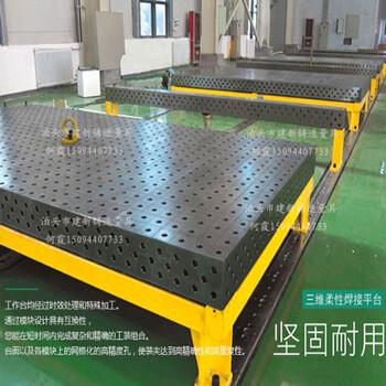 工作面不開槽的焊工工作臺、帶刻線的焊工平臺、鉚焊平臺