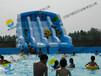 大型充气水上乐园、支架游泳池、充气游泳池、移动游泳池