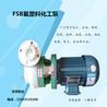 丰球泵业65FSB-32氟塑料合金耐腐泵增强聚丙烯管道泵污水料浆泵