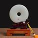 平安如意琉璃玉平安扣擺件工藝品定制高檔禮品紀念品活動品獎盤