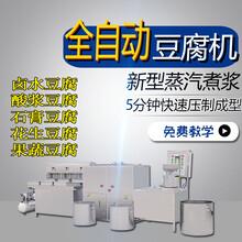 多功能豆腐机商用蒸汽煮浆机不锈钢豆腐机大功率磨豆浆机