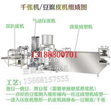 全自動豆腐皮機商用小型千張豆皮機百葉機干豆腐機圖片