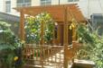 西安仿古廊架,實木廊架,室外廊架
