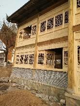 西安松木门窗老榆木门窗实木门窗仿古门窗以及门窗定制图片