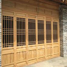 供應陜西西安實木門窗,松木門窗廠家,仿古門窗價格,門窗定制圖片