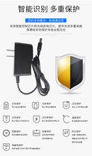 厂家直销12V1A插墙式带输出线电源适配器过CE认证图片