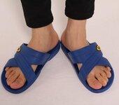 东莞抗疲劳SPU防静电拖鞋优质生产厂家