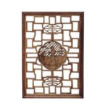 中式窗花格木花格木窗工程打造古典门窗精美雕刻图片