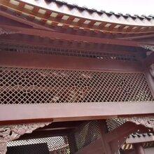 四川中式花窗景区实木花窗木雕门窗定制厂家图片