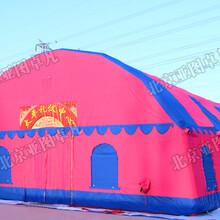 大型婚宴事宴充气帐篷房红白喜事流动餐饮帐篷酒席餐厅充气大棚车