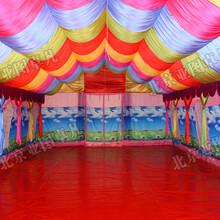 大型充气婚宴事宴帐篷红白喜事帐篷流动餐饮帐篷流动酒席充气帐篷