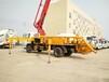 华一专汽26-31米小型臂架泵车