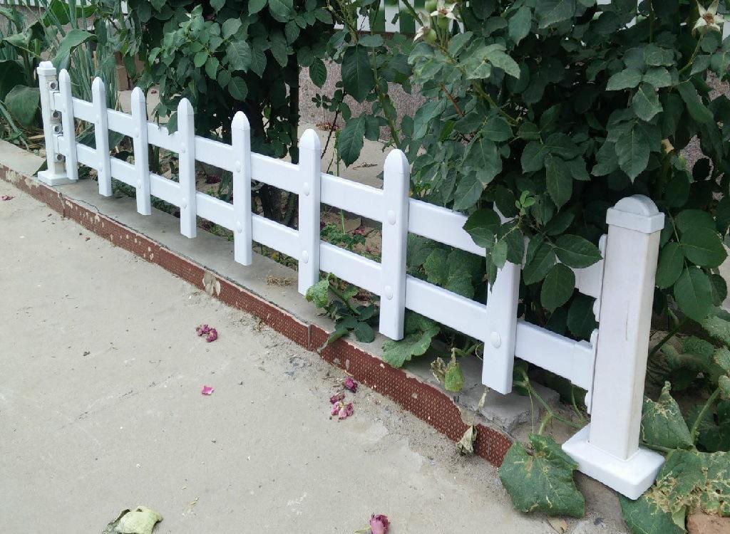 专业生产塑钢PVC围栏/别墅庭院围栏/PVC绿化带栏杆