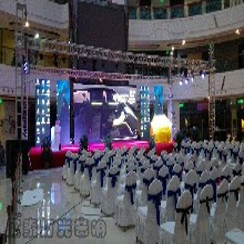 欣泰LED屏舞台搭建专业灯光音响展会展览