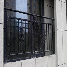 德邦厂家直销盘锦精美喷涂阳台护栏/组装式飘窗护栏图片