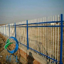 河北锌钢护栏网厂家-建筑围墙锌钢护栏网四横梁
