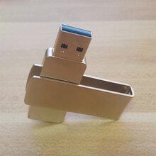金属旋转夹子u盘新款金属u盘2.03.0接口可以旋转创意礼品u盘校园礼品定制