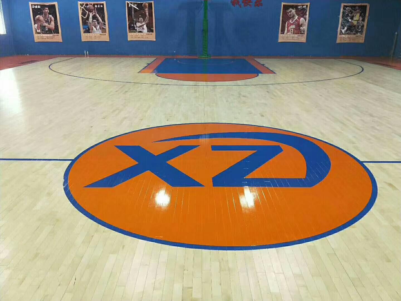 隴南籃球館運動木地板算價