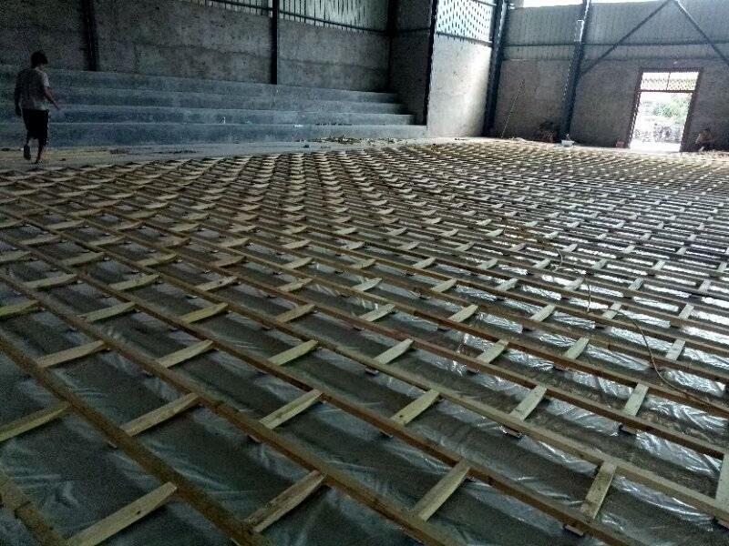 甘肃白银学校篮球馆运动木地板价格