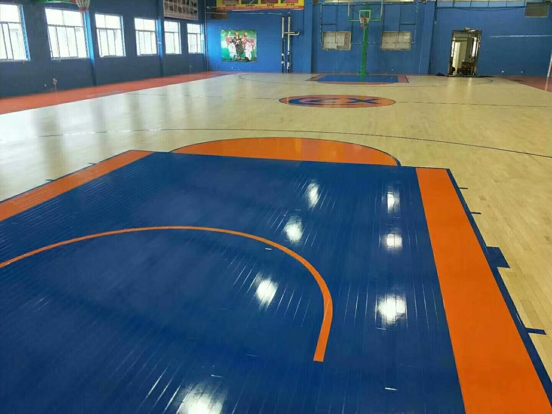 龙岩篮球馆专用木地板持续推进
