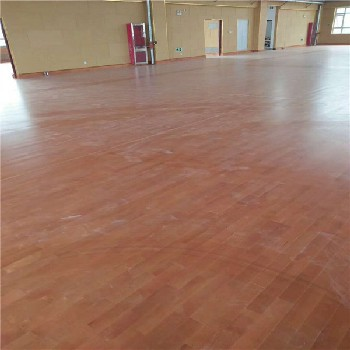 赤峰羽毛球场运动木地板信任