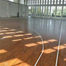 巫山体育馆运动木地板算价图片