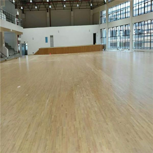 通辽篮球馆专用运动木地板加油
