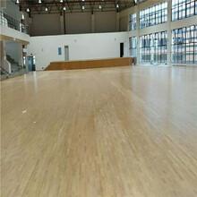 武漢防滑籃球館木地板加油圖片