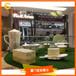 定制玻璃鋼茶壺餅干桌子茶杯甜點休息凳DP裝飾道具商場美陳櫥窗DP中庭道具