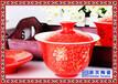 三才杯蓋碗景德鎮蓋碗茶杯高溫瓷蓋碗杯子陶瓷茶碗家用功夫茶具