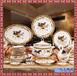 景德鎮陶瓷餐具骨瓷套裝歐式中式家用瓷器喬遷結婚送禮
