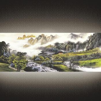 建国七十周年影门墙大型壁画陶瓷壁画影壁墙迎壁墙照壁瓷砖庭院