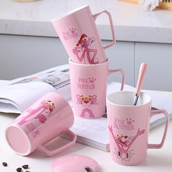 北欧ins陶瓷杯波点星空马克杯创意办公室咖啡杯奶茶描金水杯