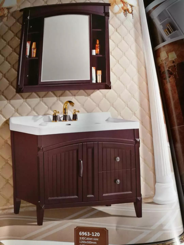 欧式柜pvc柜橡木柜欧米洁卫浴图片