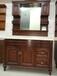 杭州浴室柜厂家橡木柜欧米洁卫浴洗衣柜免漆柜
