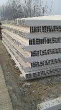 北京厂家直销四孔九孔六孔多孔栅格管PVC格栅管价格低质量优