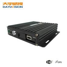 带GPS定位的4路高清AHD车载录像机SD卡车载录像机车载监控主机图片