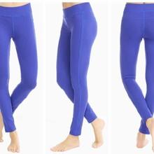 四針六線緊身褲速干運動褲健身褲壓縮褲圖片