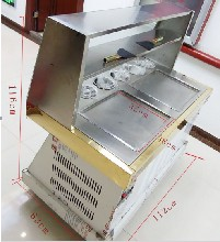子长县炒冰机低价售卖厂家直销买设备免费培训技术图片