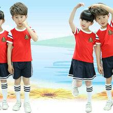 成都幼儿园园服定制,纯棉夏季全棉园服批发,拼接校服定制-戈恩服装