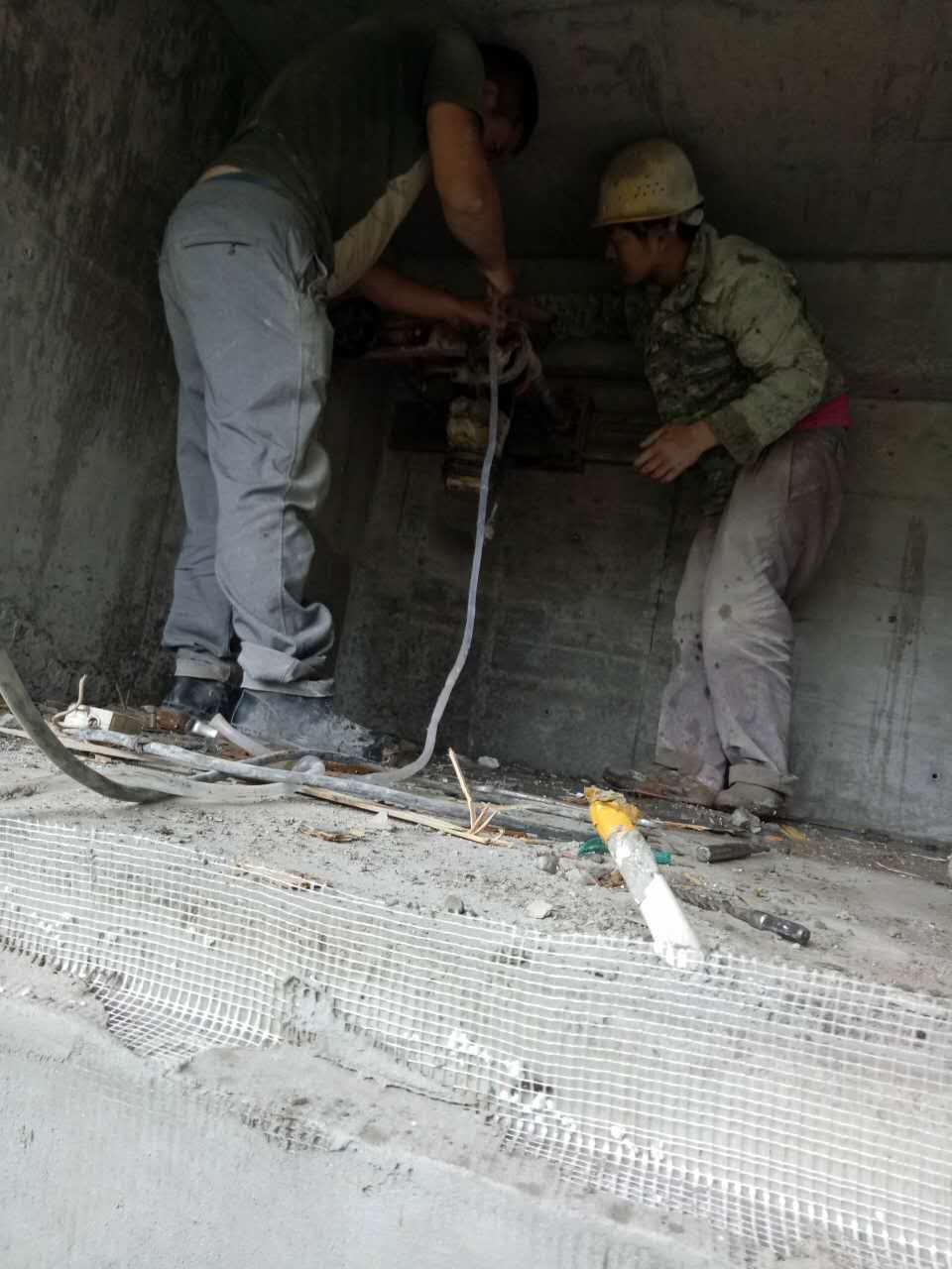 杭州混凝土切割 结构改造无损拆除