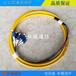 电信级LC12芯束状尾纤12色小方头单模1.5米尾纤