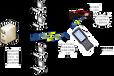 高频无源RFID医疗管理方案,人员识别一次性pvc腕带,医院一卡通