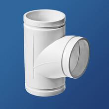中泽沟槽式HDPE排水管虹吸同层排水管pp管复合管